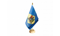 Tischflagge USA Delaware - 15 x 22 cm