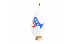 Tischflagge USA Demokraten Democrats
