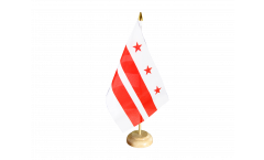 Tischflagge USA District of Columbia - 15 x 22 cm