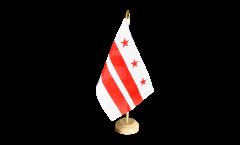 Tischflagge USA District of Columbia