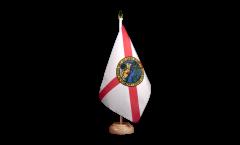 Tischflagge USA Florida - 15 x 22 cm