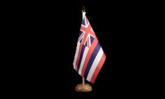 Tischflagge USA Hawaii - 15 x 22 cm