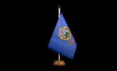 Tischflagge USA Idaho - 15 x 22 cm
