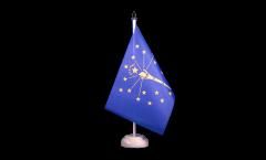 Tischflagge USA Indiana - 15 x 22 cm