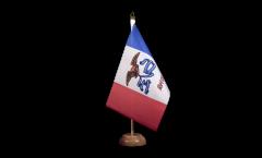 Tischflagge USA Iowa - 15 x 22 cm