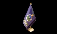 Tischflagge USA Kansas - 15 x 22 cm