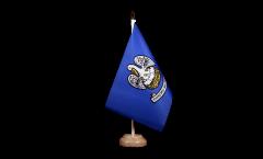 Tischflagge USA Louisiana - 15 x 22 cm