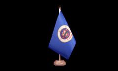 Tischflagge USA Minnesota - 15 x 22 cm