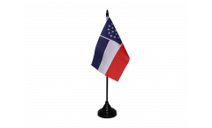Tischflagge USA Mississippi inoffiziell - 10 x 15 cm