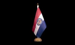 Tischflagge USA Missouri - 15 x 22 cm