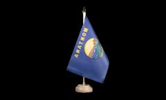 Tischflagge USA Montana - 15 x 22 cm