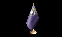 Tischflagge USA Nevada - 15 x 22 cm