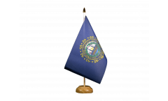 Tischflagge USA New Hampshire