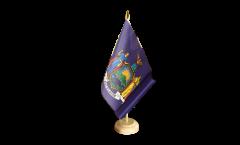 Tischflagge USA New York - 15 x 22 cm