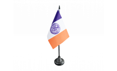 Tischflagge USA New York CITY