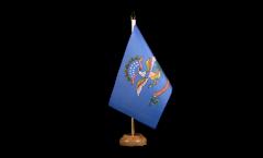 Tischflagge USA North Dakota