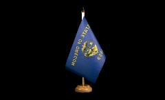 Tischflagge USA Oregon - 15 x 22 cm