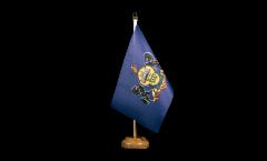 Tischflagge USA Pennsylvania - 15 x 22 cm
