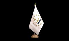 Tischflagge USA Rhode Island - 15 x 22 cm