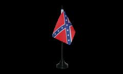 Tischflagge USA Südstaaten - 10 x 15 cm