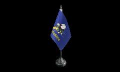 Tischflagge USA Seabees - 10 x 15 cm
