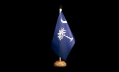Tischflagge USA South Carolina