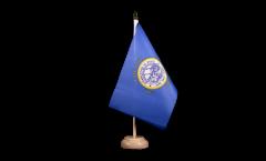 Tischflagge USA South Dakota