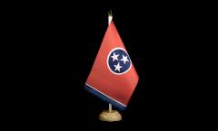 Tischflagge USA Tennessee - 15 x 22 cm