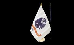 Tischflagge USA US Army - 15 x 22 cm