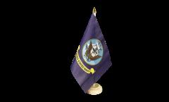 Tischflagge USA US Navy