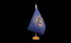 Tischflagge USA Utah - 15 x 22 cm