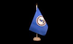 Tischflagge USA Virginia - 15 x 22 cm