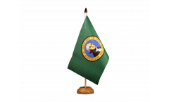 Tischflagge USA Washington