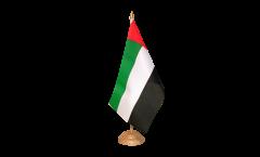 Tischflagge Vereinigte Arabische Emirate - 15 x 22 cm