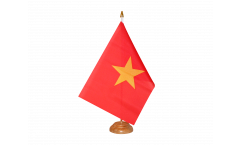Tischflagge Vietnam - 15 x 22 cm