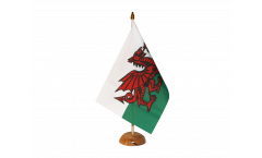 Tischflagge Wales - 10 x 15 cm