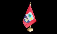 Tischflagge West Indies - 15 x 22 cm
