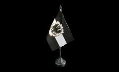 Tischflagge Westpreußen - 10 x 15 cm