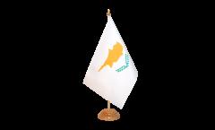 Tischflagge Zypern - 15 x 22 cm