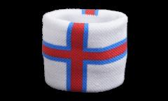 Schweißband Färöer-Inseln, 2er Set - 7 x 8 cm