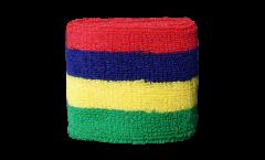 Schweißband Mauritius - 7 x 8 cm
