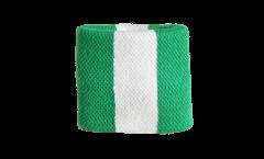 Schweißband Nigeria - 7 x 8 cm