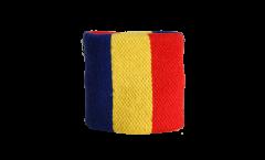 Schweißband Rumänien, 2er Set - 7 x 8 cm