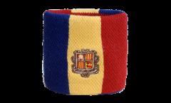 Schweißband Andorra - 7 x 8 cm
