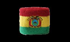 Schweißband Bolivien - 7 x 8 cm