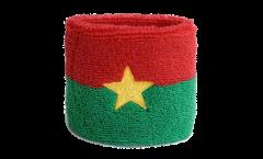 Schweißband Burkina Faso - 7 x 8 cm