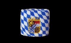 Schweißband Deutschland Bayern mit Wappen - 7 x 8 cm