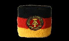 Schweißband Deutschland DDR - 7 x 8 cm