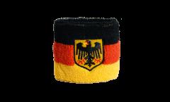 Schweißband Deutschland mit Adler - 7 x 8 cm