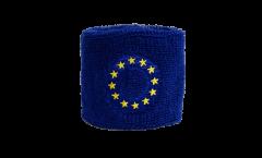 Schweißband Europäische Union EU, 2er Set - 7 x 8 cm